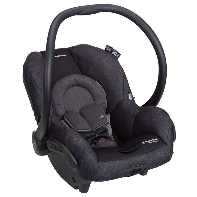 IC302ETKA Nomad Mico Max 30 Infant Rear Facing Car Seat, Black 4