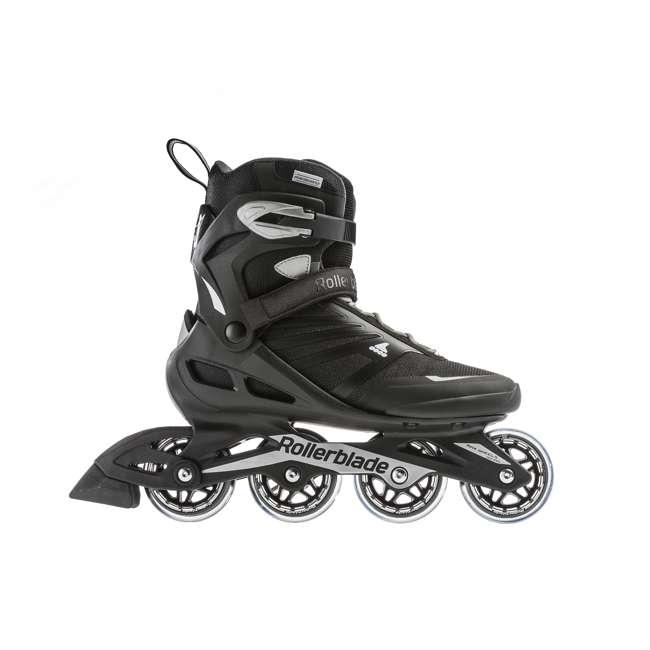 7958600816-9 Rollerblade Zetrablade Adult Mens Beginner Fitness Inline Skates, Size 9, Black 3