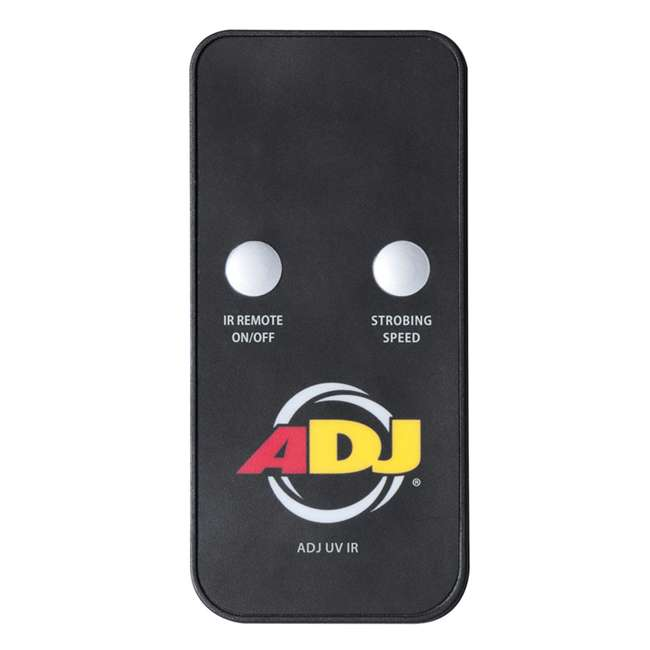 3 x ECO-UVBAR-PLUS-IR American DJ Eco UV Bar Plus IR Ultraviolet LED Black Light Fixture w/Remote (3) 3