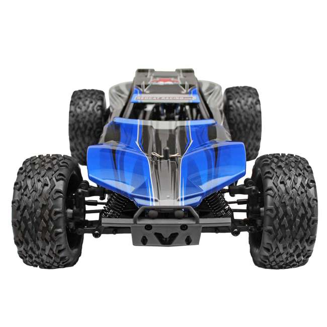 BLACKOUT-XBE-BLUE-U-C Redcat Racing 1/10 Scale Brushed Electric RC Monster Buggy, Blue (For Parts) 1