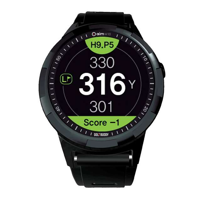 AIM-W10 GolfBuddy AIM-W10 aim W10 Smart Golf GPS Touch Screen Watch Distance Rangefinder