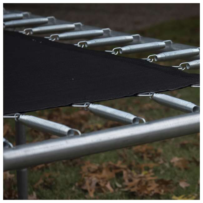JumpKing 7 X 10-Foot Rectangular Trampoline With Enclosure