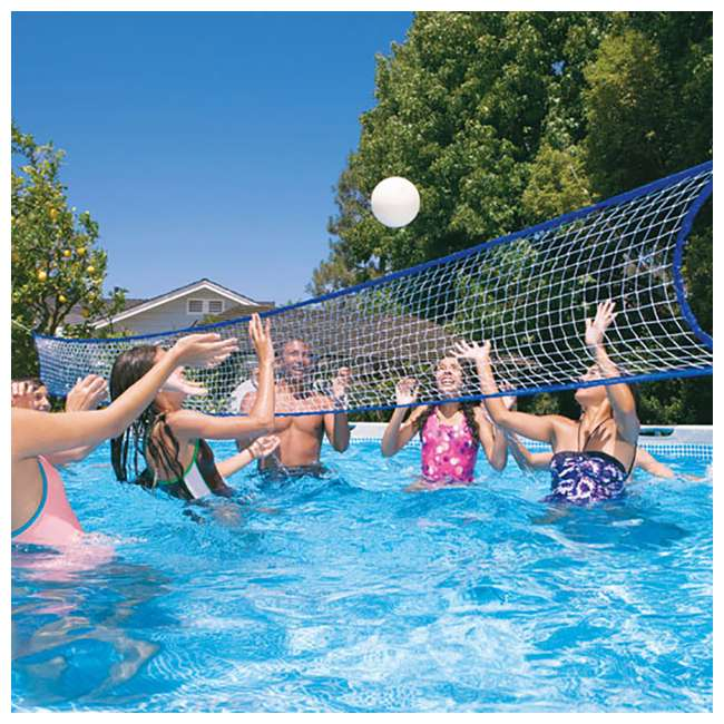 Intex 32 x 16 x 4 3 foot ultra frame pool set with for Intex pool handler