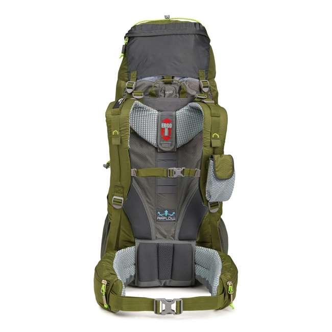 62421-4416 High Sierra Tech 2 Series Titan 55 Frame Pack, Moss 2