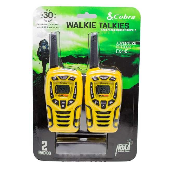 CX445 Cobra 28-Mile Sports Walkie Talkie Radios 5