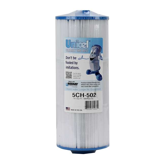 3 x 5CH502-U-A Unicel Marquis Spa Filter Replacement 20041 20042 Cartridge-Open Box (3 Pack) 1