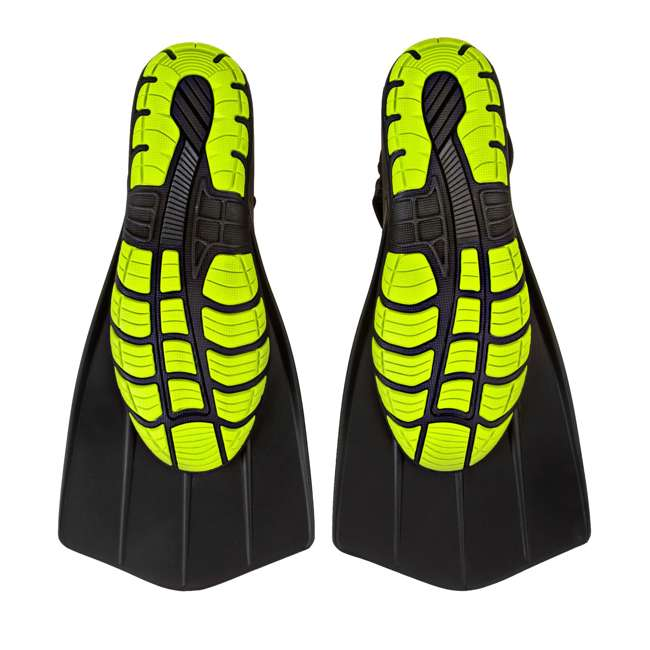 TS-SS-W5-Y3 Wildhorn Topside Women's 5 Youth 3 Hydro Snorkel Fins, Sharkskin (2 Pack) 4