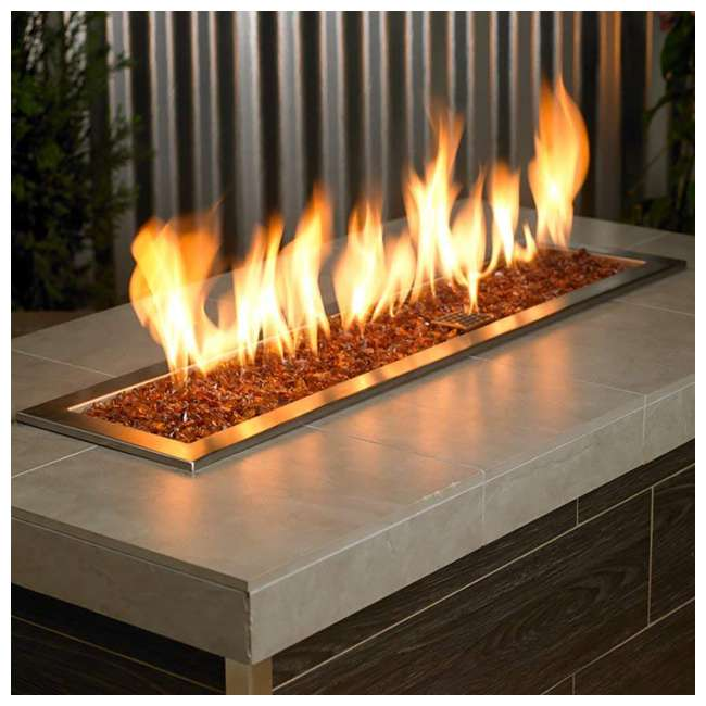 CG-COFFEE-S-10 American Fireglass 1/4-1/2-Inch Thick Fireplace and Fire Pit Glass, 10LB, Coffee 1