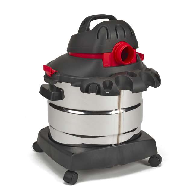 5989400 Shop Vac Stainless Steel Portable 8 Gallon Wet Dry Vacuum Floor Cleaner & Blower 3