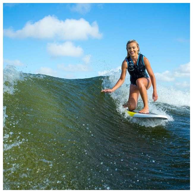 2191174-MW O'Brien Watersports Pike Foam Deck Ultralight Stringer Core Wakesurf Board 4