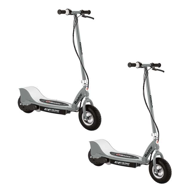 13116312 Razor E325 Electric Scooters, Silver (2 Pack)