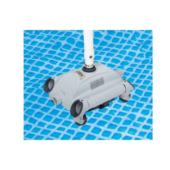 28001E-U-A Intex Automatic Above Ground Swimming Pool Vacuum | 28001E  (Open Box) (2 Pack) 1