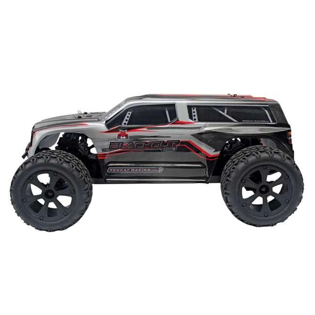 4 x BLACKOUT-XTE-SILVERSUV Redcat Blackout XTE Electric RC Monster Truck SUV (4 Pack) 4