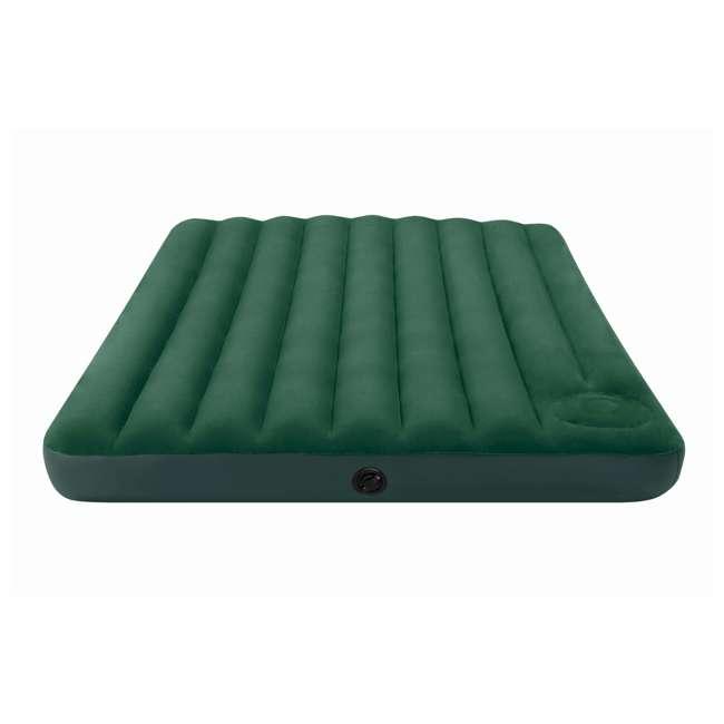 66929E-U-A Intex Queen Downy Air Bed Camping Mattress w/ Pump 66929E (Open Box) (2 Pack) 5