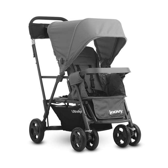 JVY-8119 Joovy Caboose Ultralight Lightweight Canopy Stroller, Charcoal