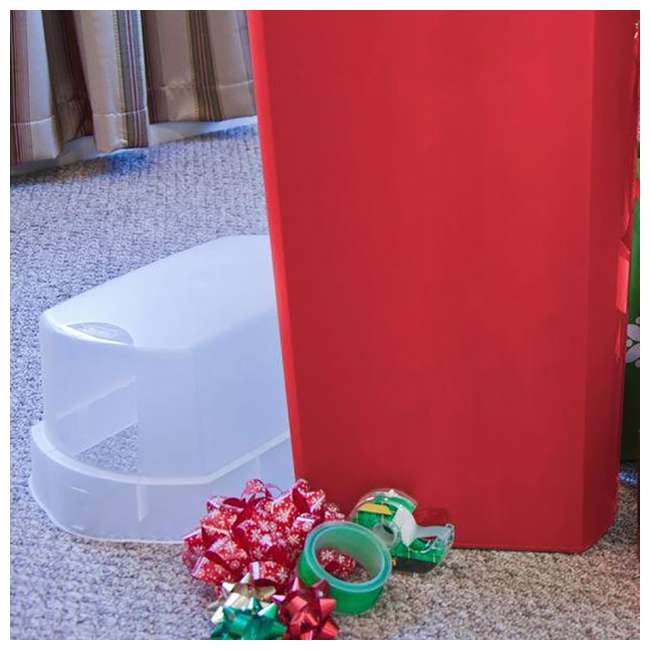 """4 x 19716604-U-A 4-pk Sterilite 30"""" Holiday Gift Wrapping Paper Storage Box with Lid (Open Box) 4"""