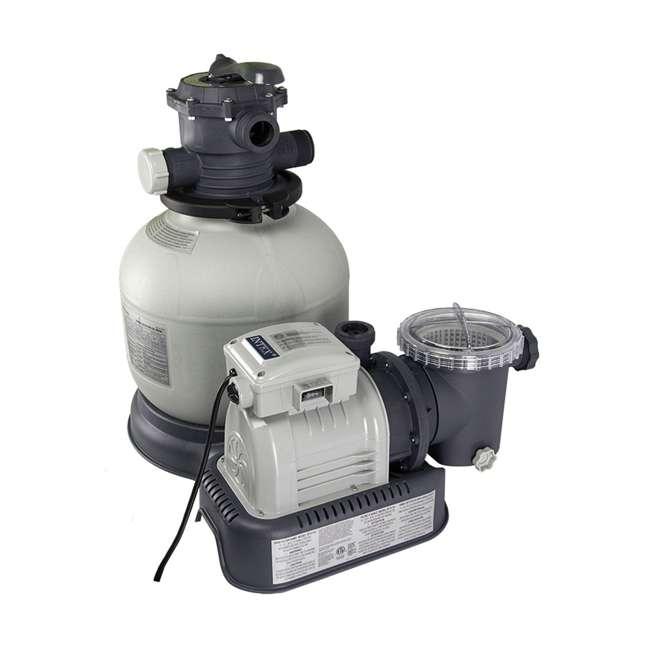 28647EG Intex 2800 GPH Above Ground Pool Sand Filter Pump
