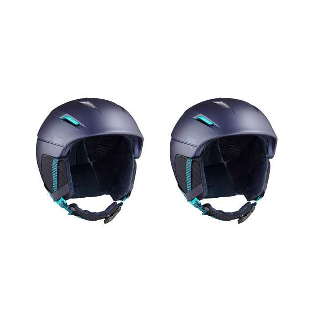 L39913300 - M Salomon Icon2 C.Air Womens Ski Helmet Medium, Blue (2 Pack)