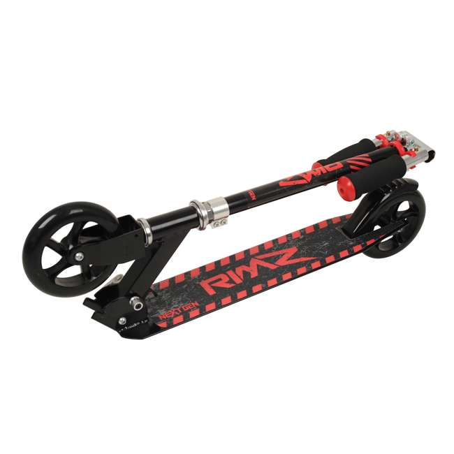 108-NXT-U-A NextGen Scooters 2 Wheeled Kids Foldable Aluminum Kick Scooter, Black (Open Box) 2