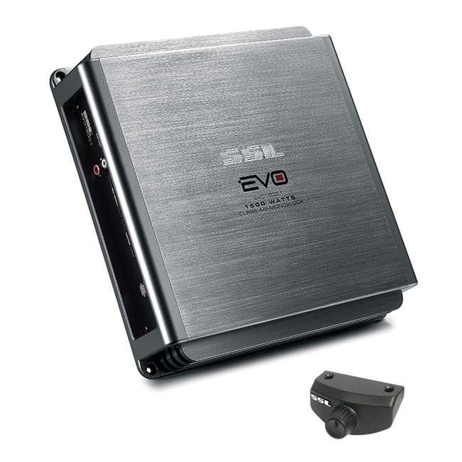 EVO1500.1 Sounstorm Ssl EVO1500.1 1500W Mono AB Amplifier with Remote