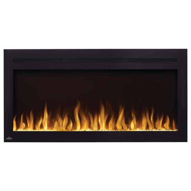 NEFL42HI Napoleon NEFL42HI Purview 42 Inch Linear Electric Wall Mount Fireplace w/ Remote 2