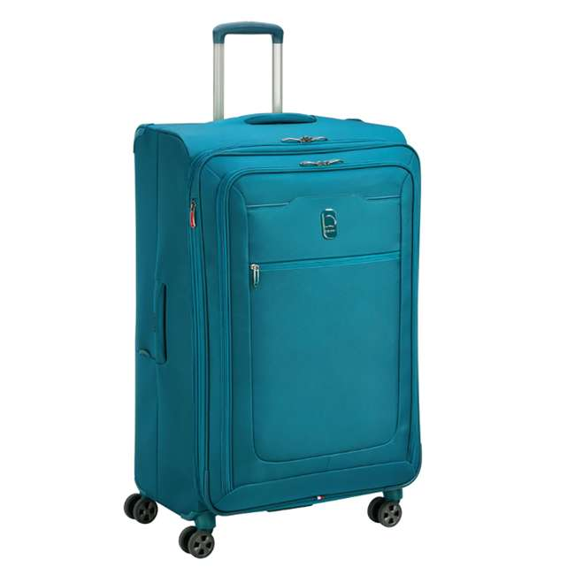 "40229183032 DELSEY Paris 29"" Expandable Spinner Upright Hyperglide Luggage Suitcase, Teal 1"