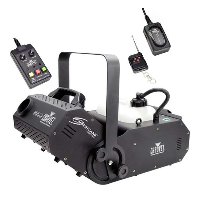 H1800FLEX + FC-W Chauvet H1800 FLEX Fog Machine + FC-W Wireless Remote