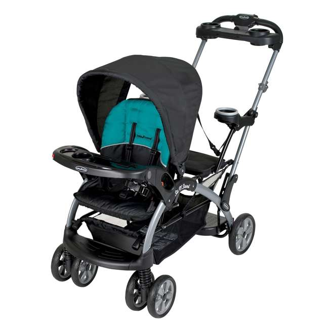 Baby Trend Sit N Stand Ultra Double Stroller Lagoon Ss66411