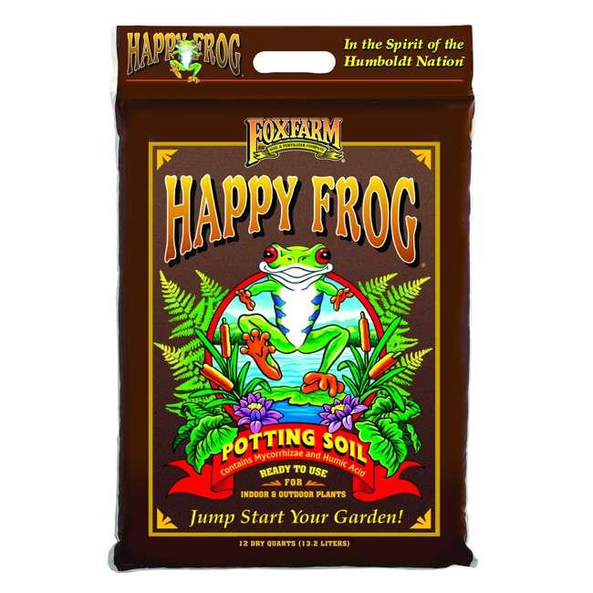 FX14053 + FX14054 FoxFarm 12 Qt Ocean Forest and Happy Frog Potting Soil  1