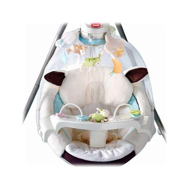 Fisher Price My Little Lamb Baby Cradle & Swing   P0098