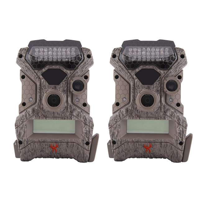 WGICM0558 Wildgame Innovations Mirage No Glow 18 MP Hunting Trail Game Camera (2 Pack)