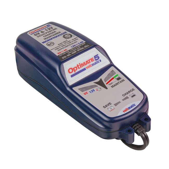 TM-223 TecMate OptiMATE 5 VoltMatic Battery Saver & Charger 1