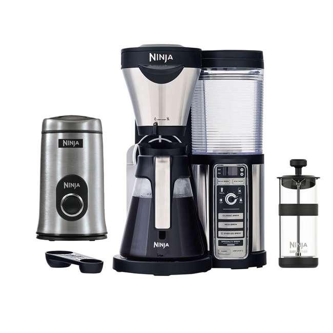 CF080QREF_EGB-RB + SP-7407 Ninja Coffee Bar (Certified Refurbished) with Coffee Bean Grinder