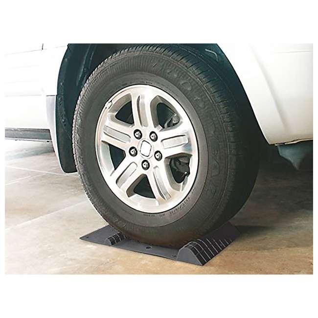 37358 MAXSA 37358 Park Right 21 x 11-Inch Heavy Duty Vehicle Tire Parking Mat, Black 3