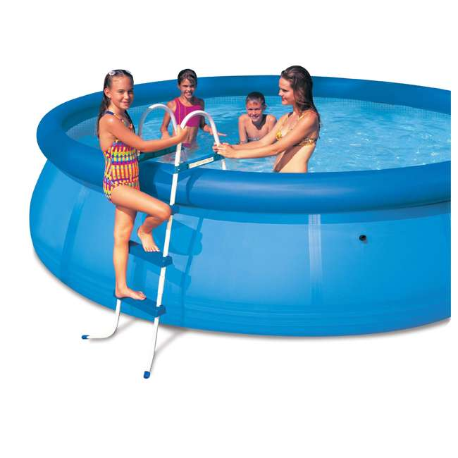 Intex Above Ground Swimming Pool Ladder With Barrier 42 Pools 58977e