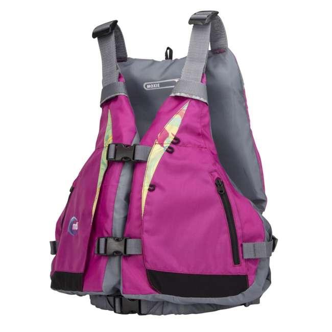 MTI-807J-0PS45 MTI Life Jackets Moxie Adult M/L Life Vest, Berry 1