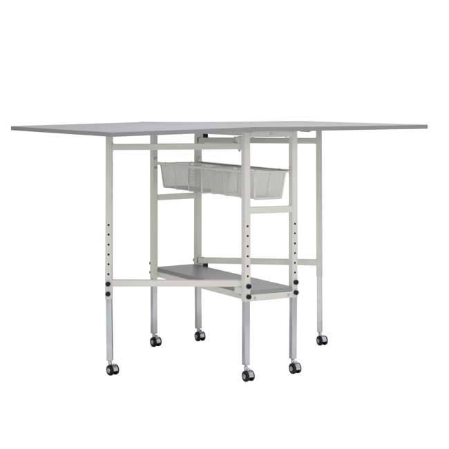STDN-38011 Sew Ready Folding Hobby and Craft Table with Drawers
