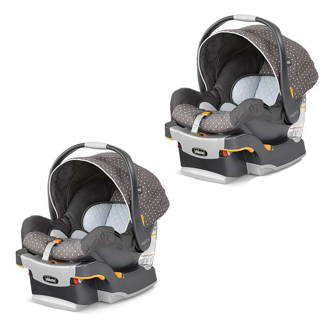 04061472810070 Chicco KeyFit 30 Infant Car Seat And Base Lilla 2 Pack