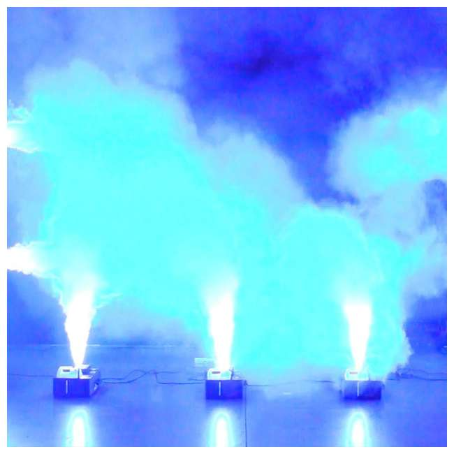 4 x FOG-FURY-JETT American DJ Fog Fury Jett Smoke Machine & LED Lights with Wireless Remote (4 Pack) 8