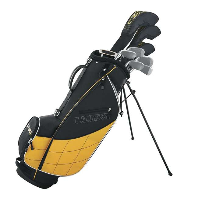 WGGC43000 Wilson Ultra Mens Complete Right Handed Golf Club Set w/ Stand Bag