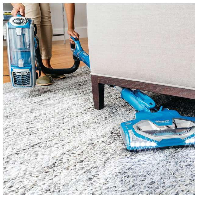 NV682 + 69944A Shark Rotator 2-in-1 Upright Vacuum & OxiClean Carpet Washer 5