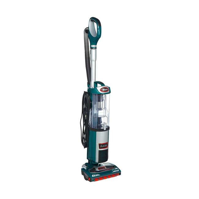 NV200QGN_EGB-RB-U-A Shark DuoClean Slim Upright Vacuum, Green (Certified Refurbished) (Open Box)