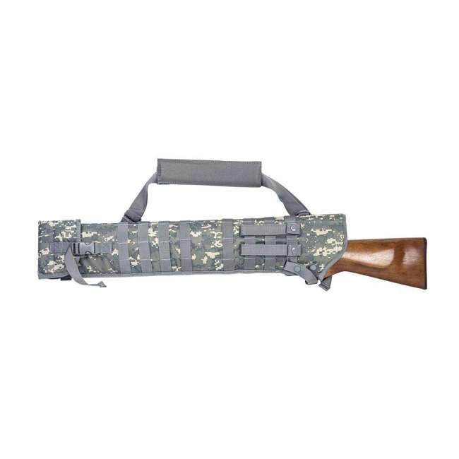 CVSCB2917D NcStar CVSCB2917D Shotgun Scabbard Bag Holster with 4 Straps, Digital Camo 1