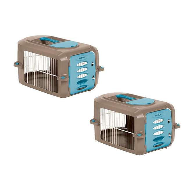 PCR2315A Suncast Personalizable Deluxe Small Pet Travel Carrier (2 Pack)