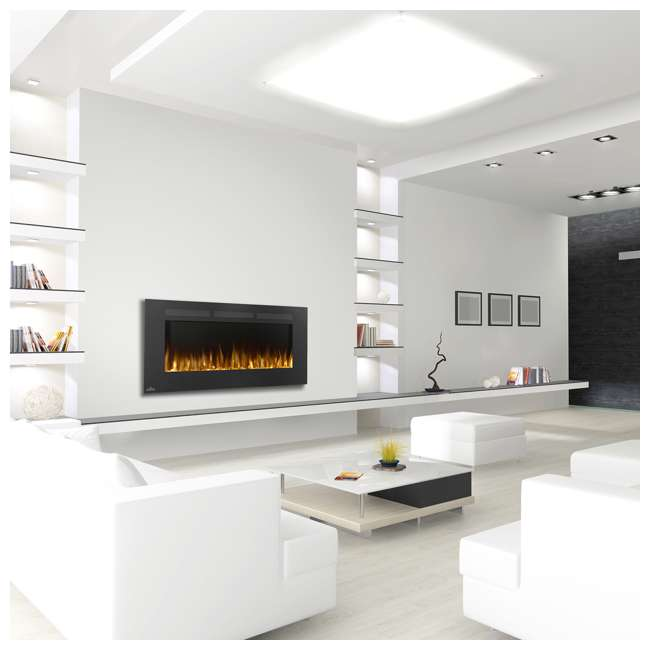 NEFL50FH-OB Napoleon Allure 50-Inch 5000 BTU Wall Hanging Electric Fireplace (Open Box) 1