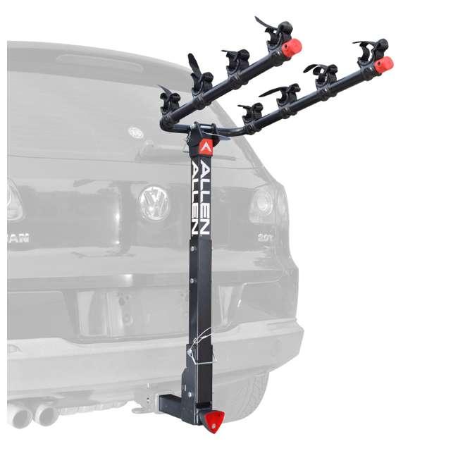 542QR Allen Sports 2-Inch Hitch Deluxe 4-Bike Rack 1