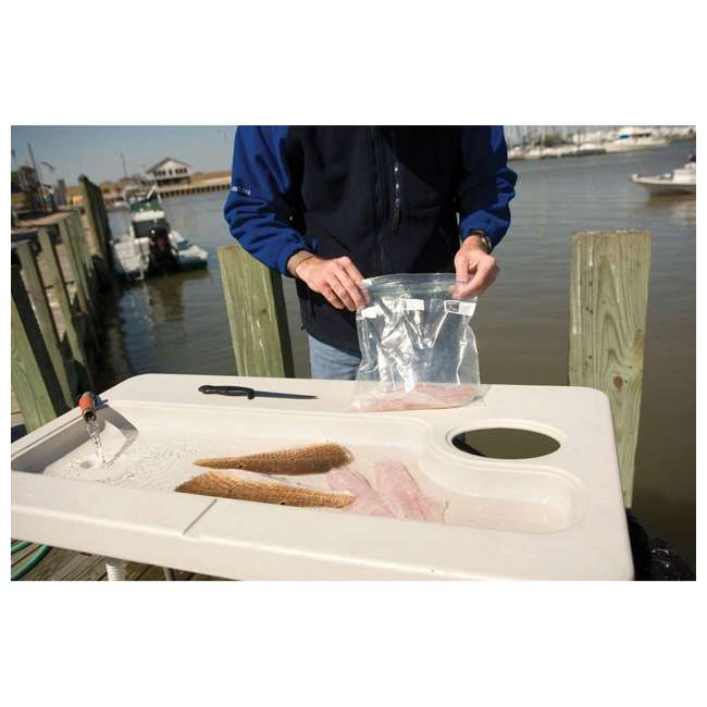 CCC-300 Coldcreek Outfitters Fillet Station Fish Cleaning Portable Outdoor Table w/ Sink 7