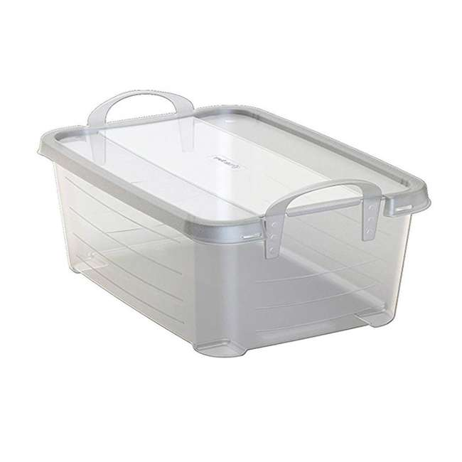 24 x CS-12-U-A Life Story Clear Storage Box, 14-Quart (24 Pack)