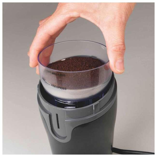 49976 + 80335R Hamilton FlexBrew Coffee Maker w/ Hamilton Beach Coffee Grinder 10