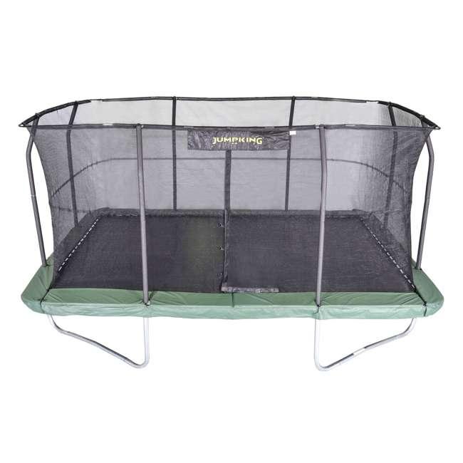 Jumpking 10 X 15-Foot Rectangular Trampoline And Enclosure